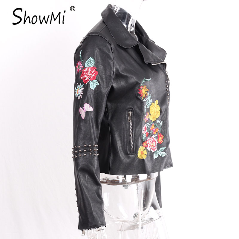 HTB16uG4QFXXXXa6apXXq6xXFXXXg - Floral Coat Zipper Flower Embroidered Jackets