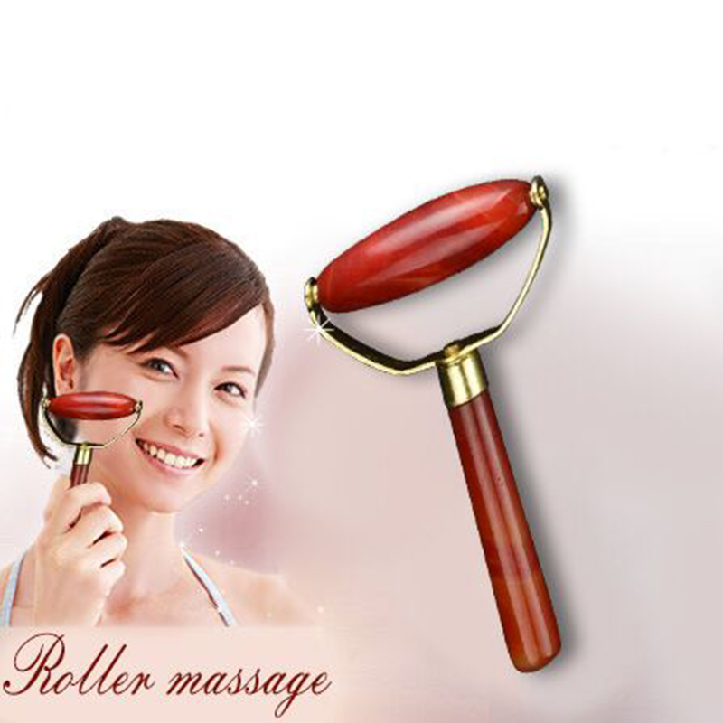 Facial Massage Women Facial Relaxation Slimming Tool Jade Roller Massager For Face Body Head Neck Foot Massaging Health Care new arrival fashion red electric face lift tool roller massager electronic facial slimming massage facial beauty