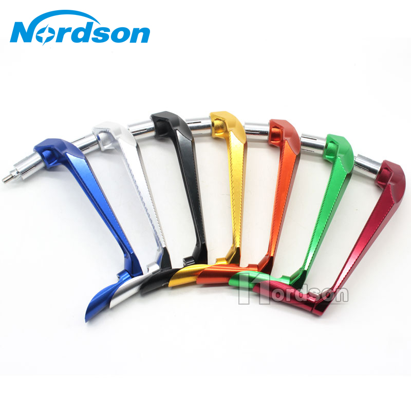 Universal CNC Aluminum 7/8 22mm Motorcycle Proguard Brake Clutch Lever Protective Guards Bar Ends Handle For Honda Yamaha KTM fxcnc universal stunt clutch easy pull cable system motorcycles motocross for yamaha yz250 125 yz80 yz450fx wr250f wr426f wr450