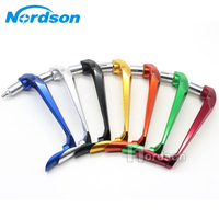 Universal CNC Aluminum 7 8 22mm Motorcycle Proguard Brake Clutch Lever Protective Guards Bar Ends Handle