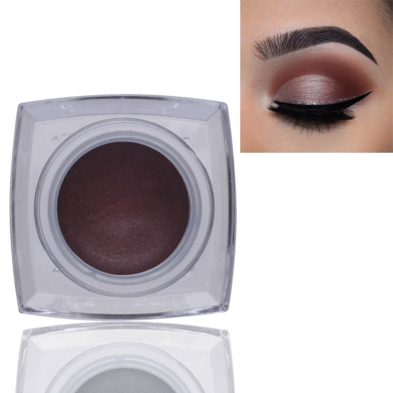 2018 IMAGIC Brand Professional Smoky Eye Pigment Shadows Color Cosmetics Waterproof Metallic Shimmer Eyeshadow Single Palette