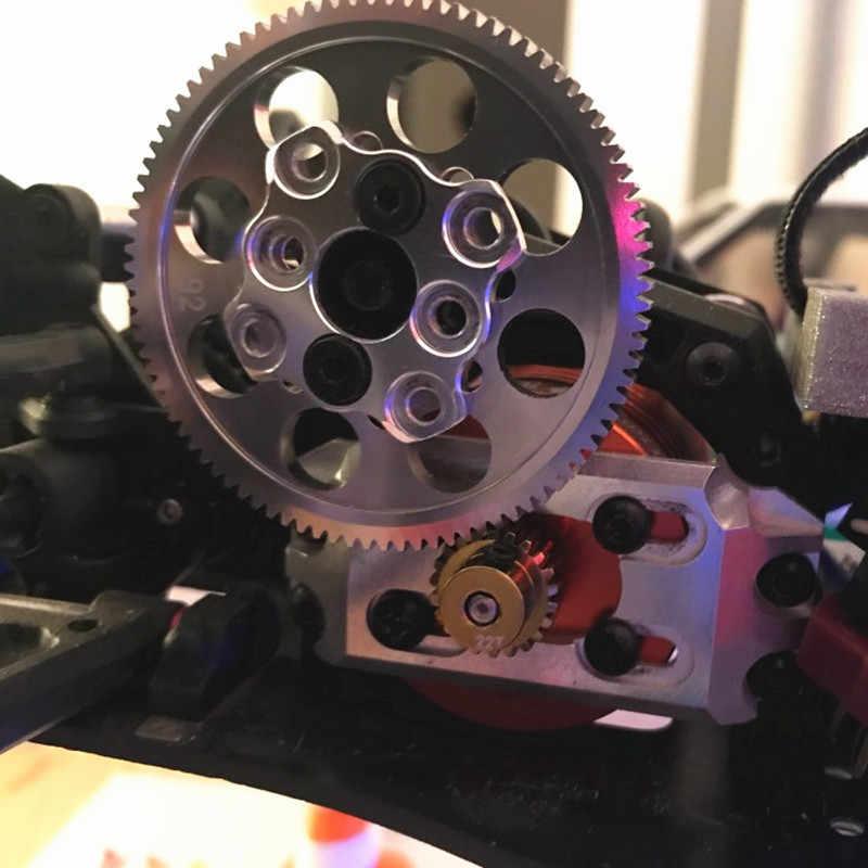 3 سباق ساكورا سبيكة 6061 OP المعادن 48P حفز والعتاد 92T ترس المحرك ل D4 CS AWD RWD ل 1/10 موديلات صغيرة الانجراف سيارات سباق RC سيارة