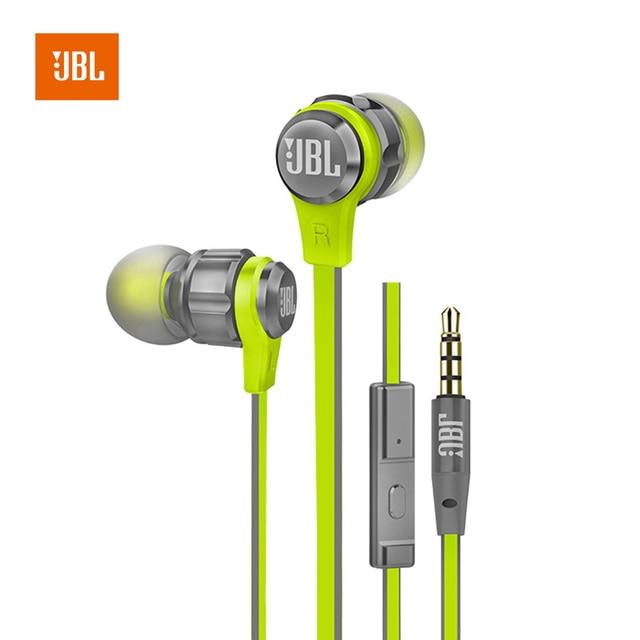 3.5mm Wired JBL T180A In-ear Music earphones Line Control JBL go Stereo Headset with Microphone fone de ouvido JBL Earphone