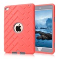 Children Drop Resistance Shockproof Kid Protector Hard PC + Soft Silicone Tyre Type Case Cover For ipad Mini 4 Shell +Stylus Pen