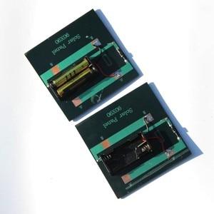 Image 2 - BUHESHUI 1 W 4 V 2 V פנל סולארי עם בסיס לסוללת AAA תאים סולריים 1.2 V AA AAA 2xAA 2 3XAAA סוללה נטענת טעינה