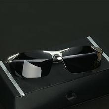 LUFF Popular Men's Aluminum Magnesium Polarized Sunglasses Leisure Driving Glasses Night Vision Goggles SN2206