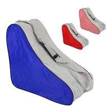 Roller Skates Cover Storage Bag For Inline Ice Skate Shoes Covers Skating Bags Case Roller Skating Sports Accessories inline skating strap roller skate boot shoes t shape strap belt roller skates strap parts for ice speed skating black