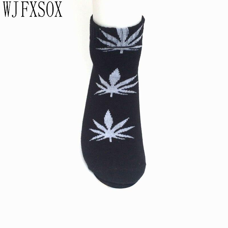WJFXSOX Cotton Germany s Harajuku Hip Hop Maple Leaf Socks Men s Street Boat Socks for