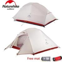 Naturehike Updated Cloud Up 1 2 3 Person 20D Fabric Ultralight Outdoor Camping Tent Outdoor Winter Camp With Free Mat