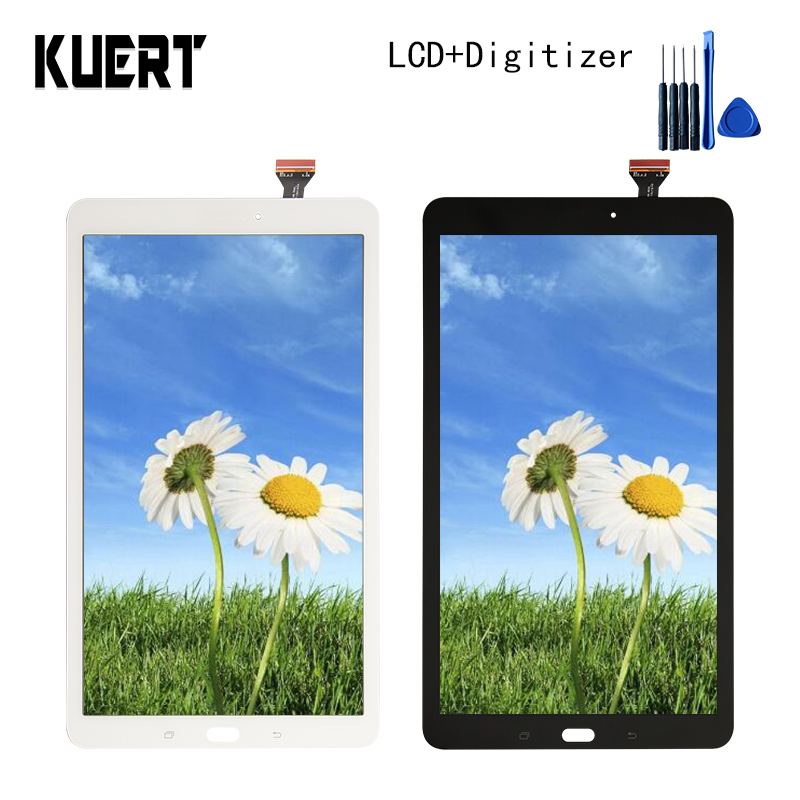 Panel LCD Combo Touch Screen Digitizer Glass LCD Display Assembly For Samsung Galaxy Tab E SM-T560 T560 Accessories Parts Tools lcd display touch screen digitizer assembly replacements for samsung galaxy tab e t560 sm t560nu 9 6 free shipping