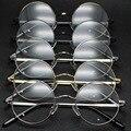 2016 TaoBao Tendencia de Moda Restaurar Antiguas Formas Redondas Gafas de Marco Gafas de Metal Gafas de Marco Marco de la Estrella de Fondo