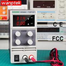 Wanptek 30 V 10A светодиодный Дисплей Регулируемый импульсный источник блок питания для ноутбука Ремонт паяльная лабораторный источник питания