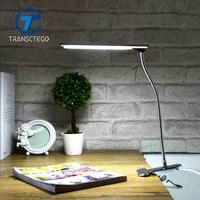 Led Clamp Lamp Desklight Clip For Student Desk Lamp Bedroom Bedside Lights