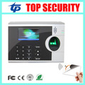 Biometric fingerprint time attendance with 13.56MHZ MF card reader TCP/IP fingerprint recognition time clock with free software