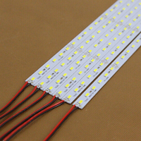 Super Bright Hard Strip Bar light SMD 5730 DC12V 50cm 36 led Aluminum Alloy Led Strip LED Bar Light 5730 5630 For Cabinet