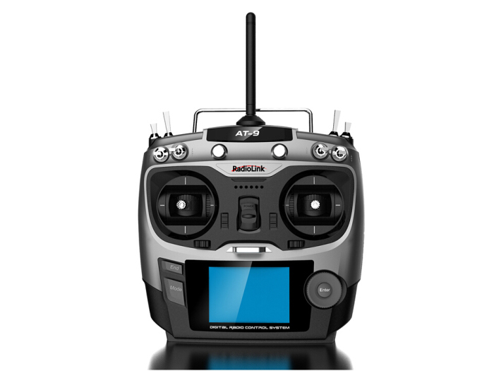 цена на Radiolink AT9 2.4GHz 9 Channel Transmitter Radio Remote Control & 2.4G 9CH R9D Receiver for RC Hobby Airplane Helis Multicopter