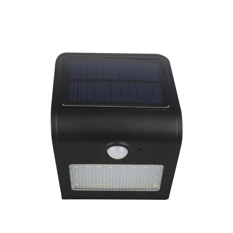 24 led Capteur 450LM LED Solaire lampe Extérieure IP65 Étanche 3.7 V batterie intégrée lampe de Mur d'économie d'énergie D'urgence Éclairage