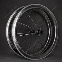 Atacado rodas de bicicleta de fibra de carbono 700c 30/35/38/45/50/55/60/75/80/90mm estrada clincher roda quente powerway r13 qualidade durável|Roda de bicicleta| |  -