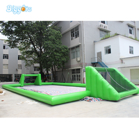 Inflatable Soapy Football Inflatable Football Field For Sport Game