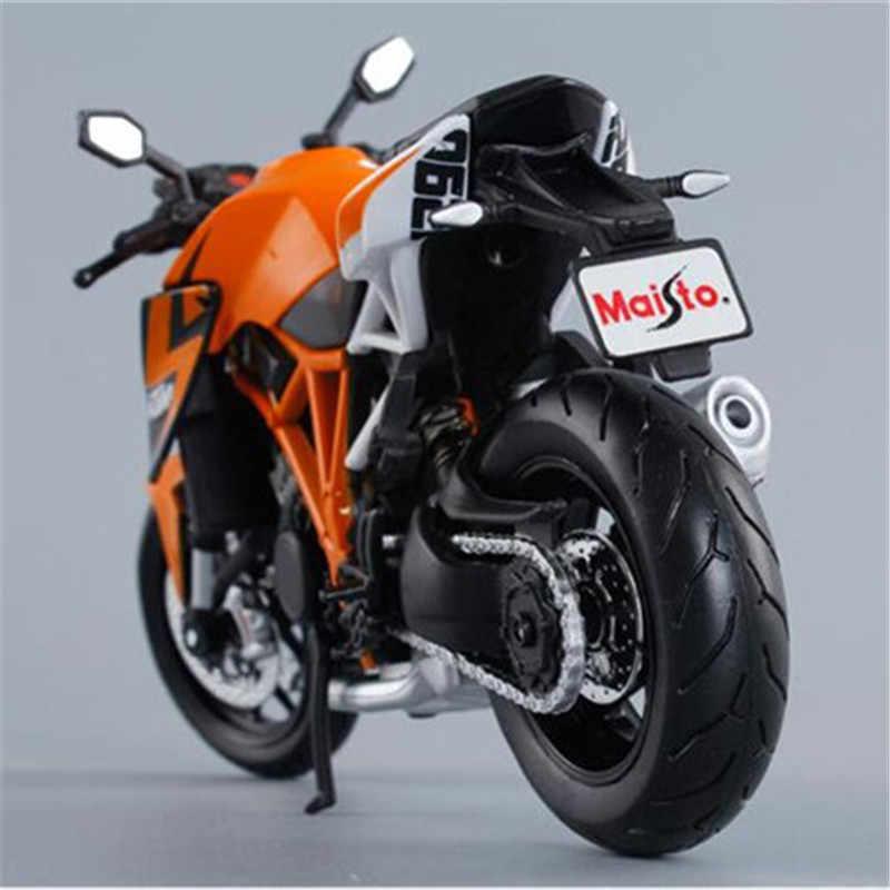 1:12 Maisto Alloy Model Sepeda Motor Mainan 1290 Simulasi Sepeda Motor Mobil Mainan untuk Anak Laki-laki Anak-anak Kendaraan