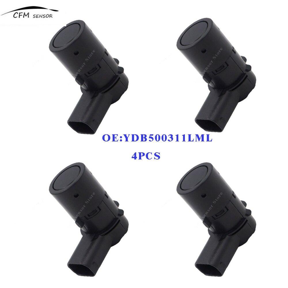 4 pcs Parking Capteur YDB500311LML Pour 2004-2009 Pare-chocs Avant LAND ROVER LR3 L322 Discovery 3 Range L322 YDB500311 YDB500311PMA