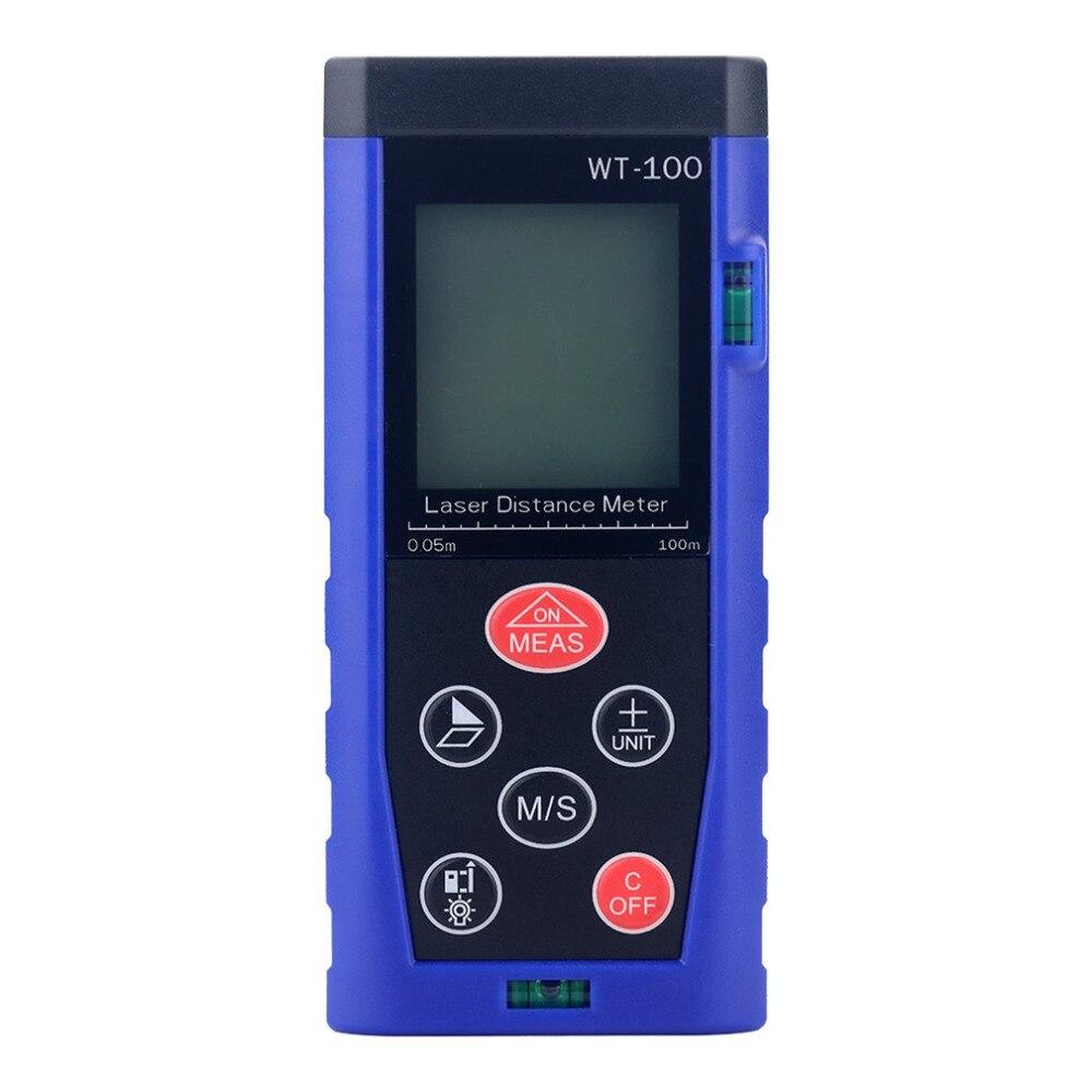 Laser Distance Meter 0.05-40m 60m 80m 100m Rangefinder Digital Laser Tape Range Finder Measure Tool