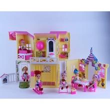 American Doll Sweet House for Barbie Kurhn Liv Dolls Baby Doll Toys for Girls Best Gift
