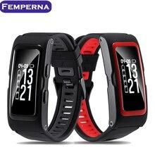 Femperna T28 Спорт трекер Smart Band Давление temp GPS монитор сердечного ритма трекер активности фитнес-Браслет Смарт-браслет