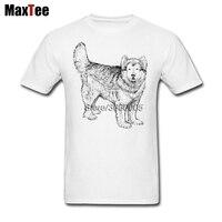 Love Alaskan Dog Tee Shirt Men Male Crazy Custom Short Sleeve Boyfriend S Plus Size Party