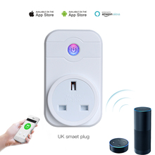 UK plug timer Management good dwelling automation Wifi Socket Plug distant Management for iphone ipad Android