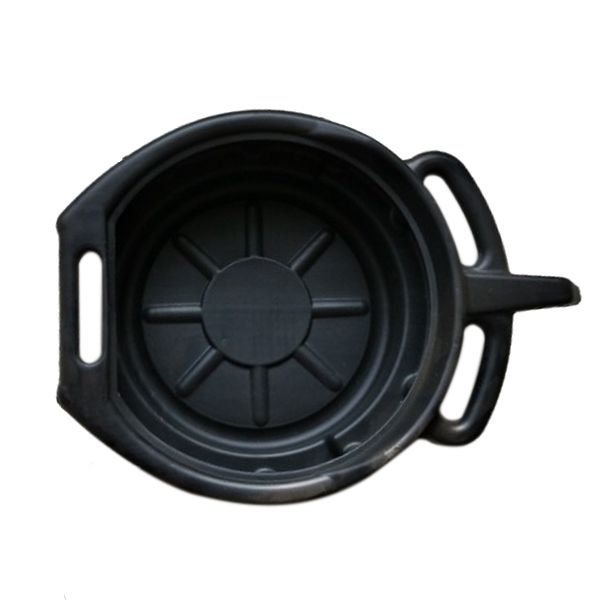 7.5L Oil Drain Pan Wast Engine Oil Collector Tank Gearbox Oil Trip Tray For Car Repair  Fuel Fluid Change Garage Tool Plastic