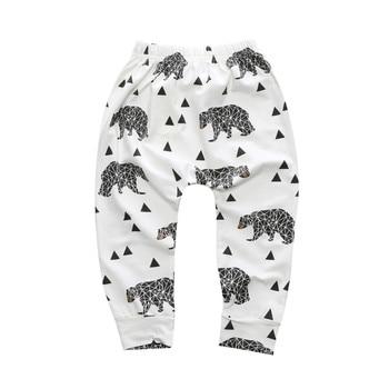 Unisex Geometric Fruits Animals Pattern Baby Pants 4
