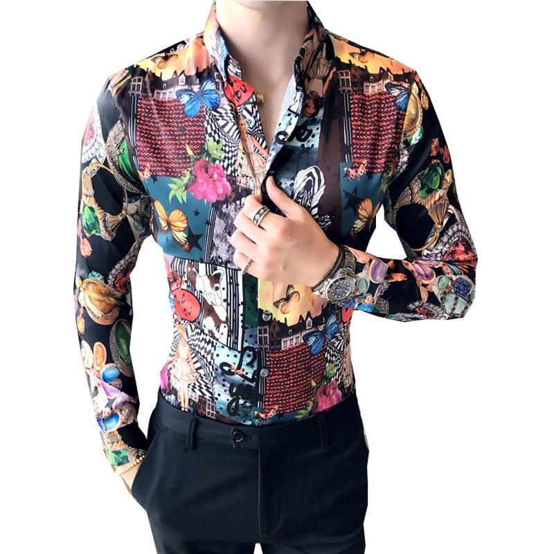 9b7e693f03 Tendance-Fleur-Chemise-2017-Manches-Longues-Floral-Chemise-Camisa-Social -Club-Partie-Baroque-Chemise-Chemiise-Homme.jpg