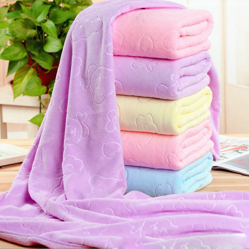 140*70cm suction quick dry hair bath towel Microfibre For beach towel Sports fitness Wipe the car super absorbent towel