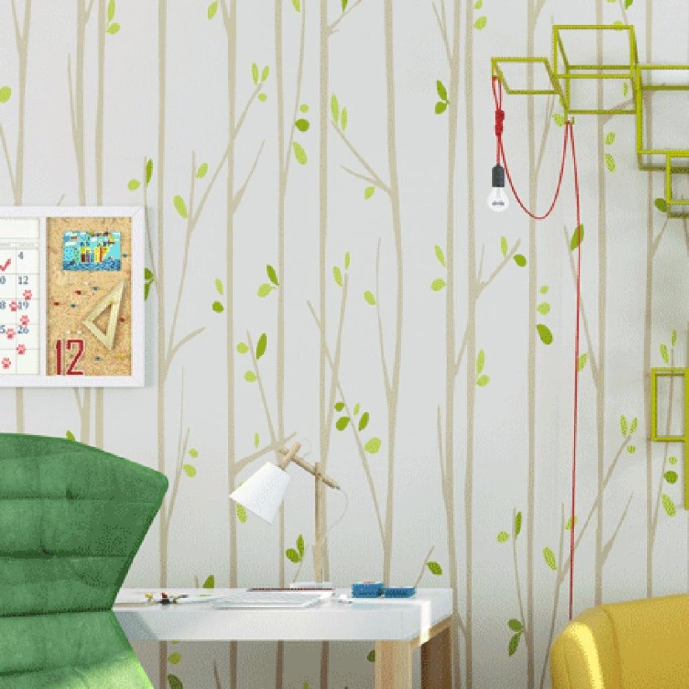 Hohe Qualität Großhandel Green Striped Wallpaper Aus China Green ... Gestreifte Grne Wnde