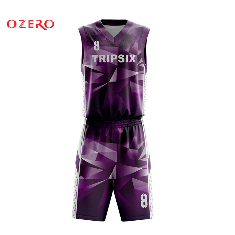 Men Basketball Jersey Sets Sports Clothing Breathable Basketball Jerseys