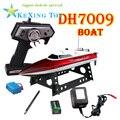 Envío gratis Piedra de la velocidad de control remoto barco DH7009 con servo/velocidad de radio control barco/barco eléctrico de juguete/regalo de los niños
