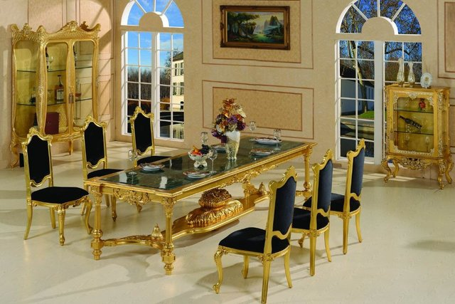 French Style Dining Room Furniture Baroque Free Shipping