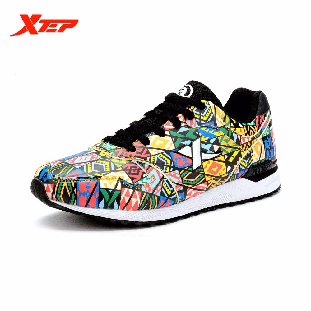 XTEP Original Brand Running Shoes for Men 2016 Autumn Winter Runners Trainers Sports Shoes Men