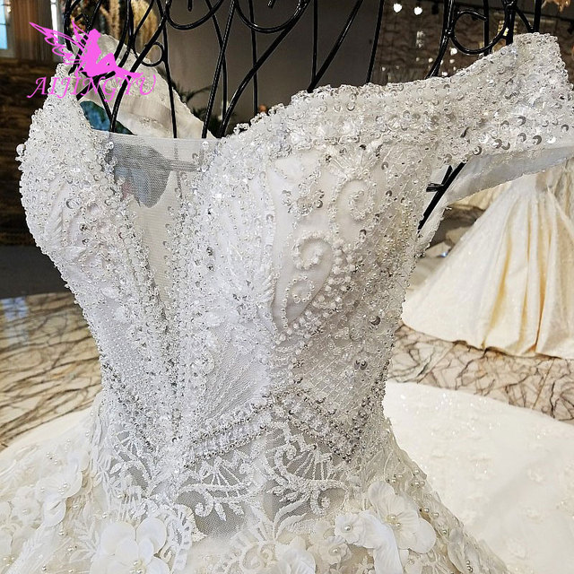 4abee5816 AIJINGYU Wedding Dresses Made In China Frocks For Wedding Satin Plus Size  Free Shipping Online Shop China Couture Bridal Gowns