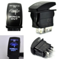 High Quality Car 12V 20A ON/OFF Switch Blue LED Winch In/Out Toggle 5Pin for Car Boat