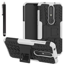 buy popular 3a22e ec497 Buy armor heavy duty hard cover case for nokia 8 and get free ...