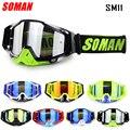 Soman Motocross Goggles Motorrad Radfahren Gläser mit Abnehmbare Nase Anti-wind Motorrad Helm Racing Gafas Oculos de Moto SM11