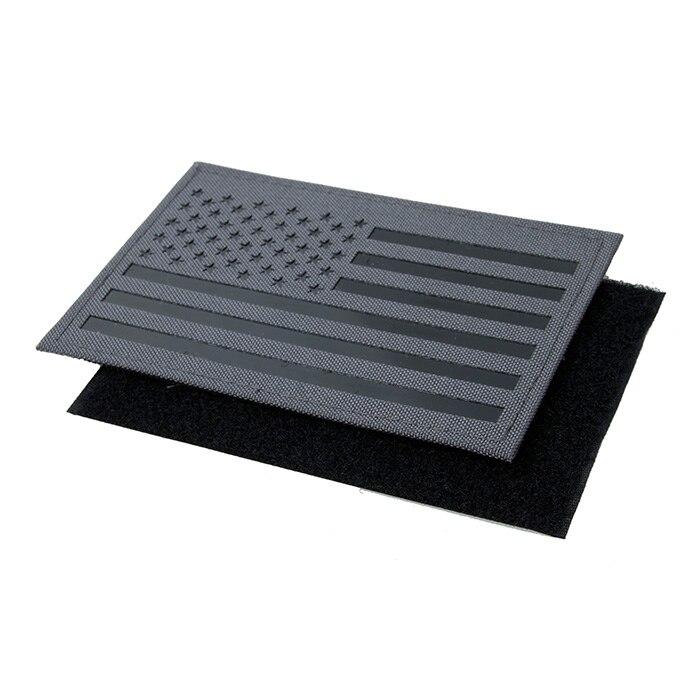 12,5x8 см Флаг США инфракрасный патч Койот коричневый серый волк CB WG (STG051098) ...
