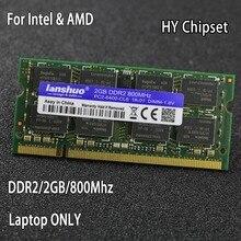 Original chipset DDR2 2GB 800MHz 667MHz 800 667 PC2-6400 DDR