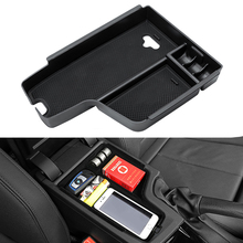 Car Center Console Armrest Storage font b Box b font Front Doors Interior Container font b