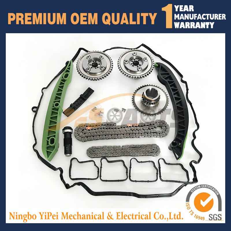Camshaft Actuator Sporcket Timing Chain Kit For Mercedes M271 W204 W212 C250 E250 SLK250 C207