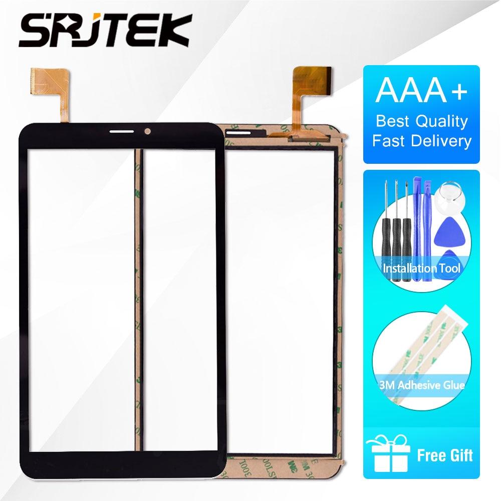 8inch Tablet Touchscreen Prestigio Multipad Pmt3408 Digitize Replacement Sensor Pmt3608 Front Glass Touch Screen Pmt3618 Black Home