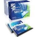 28 pcs = 14 pares de ferramentas de Cuidados de Higiene Oral Dentes Branqueamento Tiras para branquear Os Dentes Tooth Whiter Gel Alvejante Dentes Ferramentas