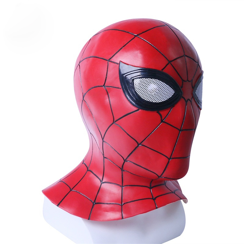 Costumes & Accessories Spider-man:into The Spider-verse Spiderman Cosplay Costume Costume Spidey Mask Full Hat Halloween Free Size Free Shipping Elegant In Smell Novelty & Special Use